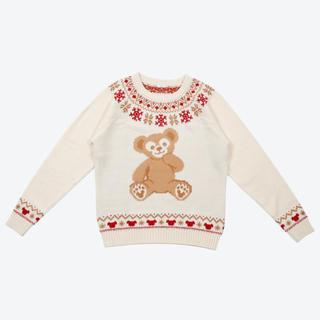 ダッフィー(ダッフィー)のダッフィー クリスマス セーター Mサイズ ディズニー ウィンターホリデー(ニット/セーター)