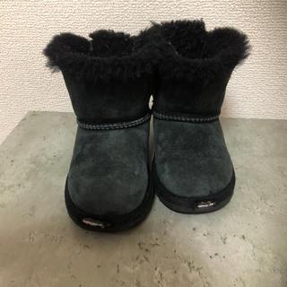 アグ(UGG)の大人気♡UGG ムートンブーツ 黒 15cm(ブーツ)