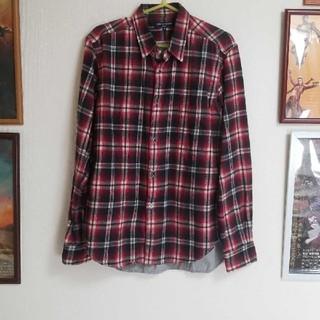 コムデギャルソンオムプリュス(COMME des GARCONS HOMME PLUS)のギャルソン 背面切替チェックネルシャツ(シャツ)