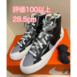ナイキ(NIKE)の【正規品】Sacai Nike Blazer 2nd Black us10.5(スニーカー)