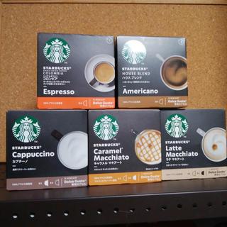 スターバックスコーヒー(Starbucks Coffee)のネスカフェ スタバ5種類 1箱セット☕️(コーヒー)