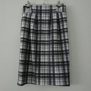 ユメテンボウ(夢展望)のチェックスカート(ひざ丈スカート)