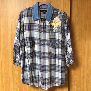 ディーゼル(DIESEL)の【DIESEL】半袖シャツ チェックシャツ(シャツ/ブラウス(半袖/袖なし))