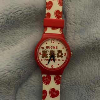 ピンクラテ(PINK-latte)のPINK-latte 腕時計 ハート くまちゃん(腕時計)