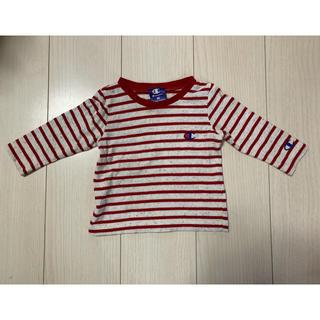 チャンピオン(Champion)のチャンピオン 赤ボーダー サイズ80cm(Tシャツ)