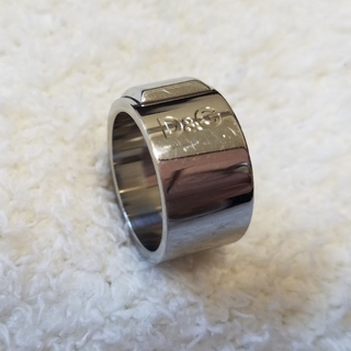 ディーアンドジー(D&G)の【D&G】指輪.リング.メンズ男性用USED.中古(リング(指輪))