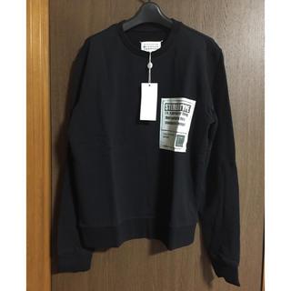 マルタンマルジェラ(Maison Martin Margiela)の黒50新品 メゾンマルジェラ ステレオタイプ スウェット ブラック メンズ(スウェット)