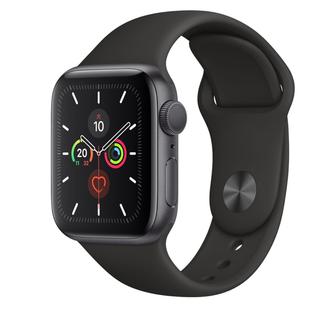アップルウォッチ(Apple Watch)の新品Apple Watch 5 40mm GPSモデル(腕時計(デジタル))