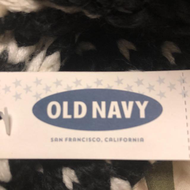 Old Navy(オールドネイビー)の新品未使用タグ付き OLD NAVY スヌード レディースのファッション小物(スヌード)の商品写真