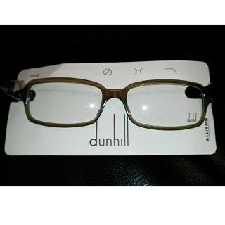 ダンヒル(Dunhill)のダンヒルDunhillメガネ眼鏡フレーム未使用新品ライトグレー(サングラス/メガネ)