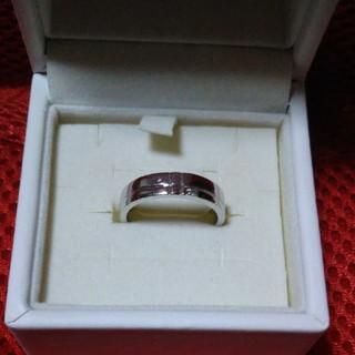 シルバー ダイヤ リング シンプル(リング(指輪))