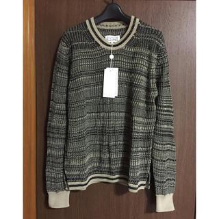 マルタンマルジェラ(Maison Martin Margiela)のL新品80%off メゾンマルジェラ ローゲージ ニット セーター メンズ(ニット/セーター)