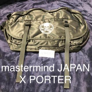 マスターマインドジャパン(mastermind JAPAN)のmastermind JAPAN X PORTER メッセンジャーバッグ(メッセンジャーバッグ)