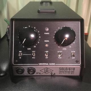 UNIVERSAL AUDIO SOLO/610 マイクプリアンプ(パワーアンプ)