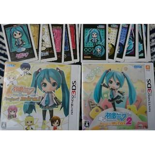 ニンテンドー3DS(ニンテンドー3DS)のれい様専用 3DS 初音ミク Project mirai2 とんがりボウシ(携帯用ゲームソフト)