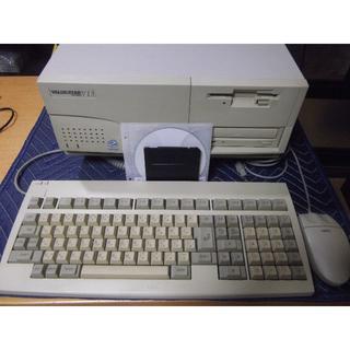 NEC - 整備済 PC-9821V13 CバスLAN 純正K/B&マウスセット