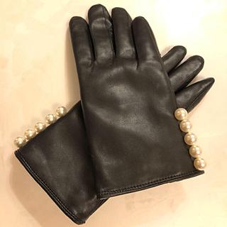 バーニーズニューヨーク(BARNEYS NEW YORK)の手袋 グローブ 本革 ヨーコチャン レディース フォクシー(手袋)