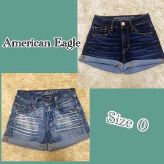 アメリカンイーグル(American Eagle)のアメリカンイーグル(ショートパンツ×2)(ショートパンツ)