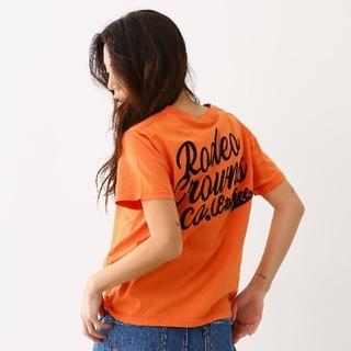 ロデオクラウンズ(RODEO CROWNS)のRODEO CROWNS★加工 ニット ポケット Tシャツ  (Tシャツ(半袖/袖なし))