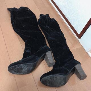 黒 ブーツ(ブーツ)