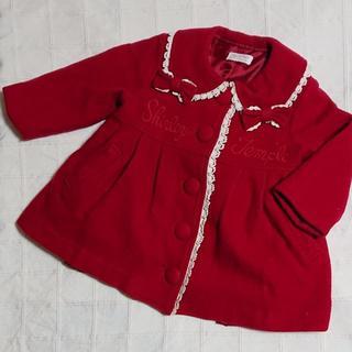 Shirley Temple - 80 シャーリーテンプル リボンとレースの赤コート