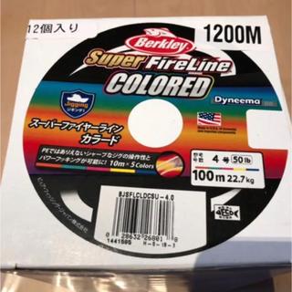 バークレー(BARCLAY)の切売り可能 スーパーファイヤーライン4号1200m(釣り糸/ライン)