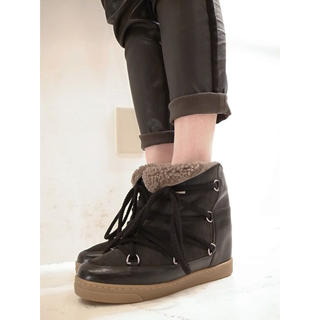 イザベルマラン(Isabel Marant)のISABEL MARANT NOWLES BOOTS ムートンブーツ(ブーツ)