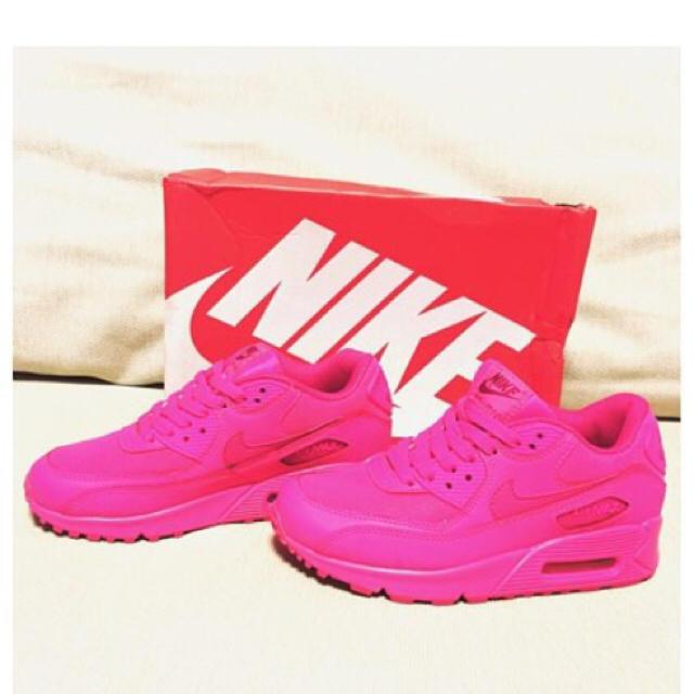 NIKE(ナイキ)のエアマックス90 ピンク レディースの靴/シューズ(スニーカー