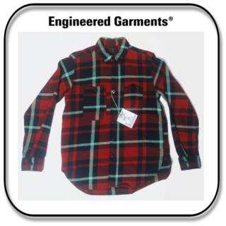 エンジニアードガーメンツ(Engineered Garments)のエンジニアードガーメンツ ワークシャツ 米国製 (US)M / (JP)L(シャツ)