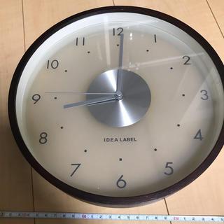 イデアインターナショナル(I.D.E.A international)のI.D.E.A LABEL壁掛け時計(掛時計/柱時計)