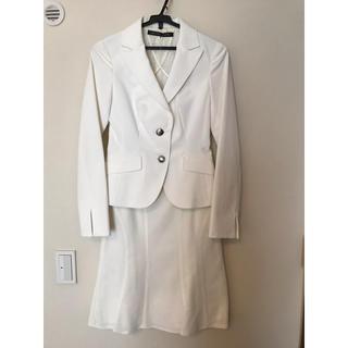 ミッシェルクラン(MICHEL KLEIN)のMICHEL KLEIN/セットアップスーツ/ジャケットとスカート(スーツ)