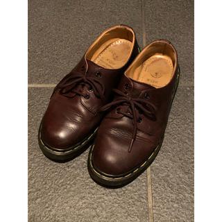 ドクターマーチン(Dr.Martens)のドクターマーチン Dr.Martens 4ホール ブラウン(ローファー/革靴)