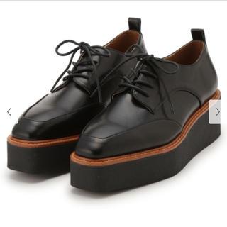 ミラオーウェン(Mila Owen)の【Mila owen】プラットフォームオックスフォード(ローファー/革靴)