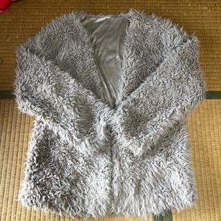 シマムラ(しまむら)のファージャケット Lサイズ(毛皮/ファーコート)