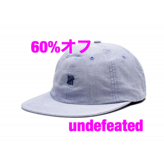 アンディフィーテッド(UNDEFEATED)の60%オフ undefeated キャップ(キャップ)