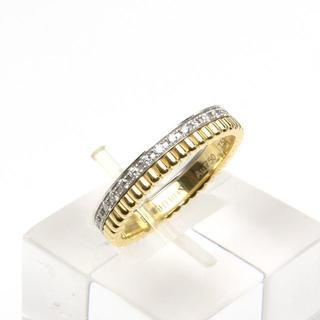 ブシュロン(BOUCHERON)のブシュロン キャトル ラディアント リング K18YG ダイヤ ハーフ 51(リング(指輪))