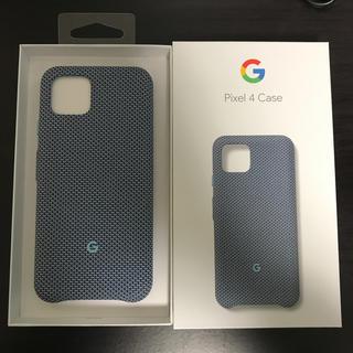 ソフトバンク(Softbank)のGoogle Pixel 4 純正ケース(Androidケース)