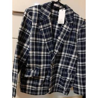 moussy - moussy ♡ チェック ジャケット コート