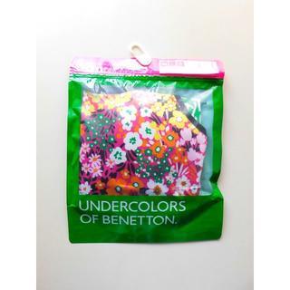 ベネトン(BENETTON)の新品♥Undercolors of Benetton ピンク花柄ブラジャー M(ブラ)