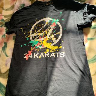 トゥエンティーフォーカラッツ(24karats)の24KAPATS Tシャツ【ブラック】(Tシャツ/カットソー(半袖/袖なし))