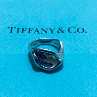 ティファニー(Tiffany & Co.)のVINTAGE TIFFANY ティファニー calla lily リング(リング(指輪))