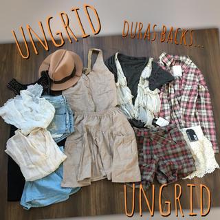 Ungrid - まとめ売り第4弾❤️Ungrid+ DURAS BACKS..福袋 セットアップ