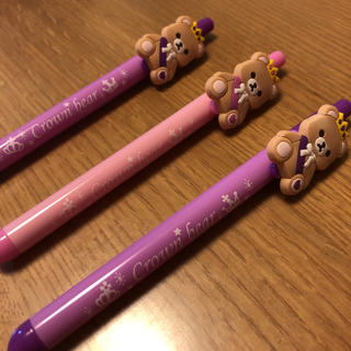 バンダイナムコエンターテインメント(BANDAI NAMCO Entertainment)の☆Crown bareボールペン☆(アイドルグッズ)