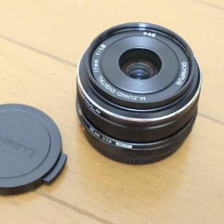 オリンパス(OLYMPUS)のOLYMPUS_M.ZUIKO 17mm 1.8ブラック(レンズ(単焦点))