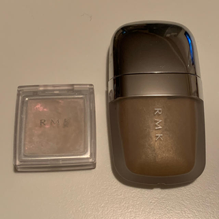 アールエムケー(RMK)のRMK ストーンホイップアイズ 02 グロージェル01 セット(アイシャドウ)