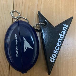 ダブルタップス(W)taps)のDESCENDANT ディセンダント  コインケース キーホルダー セット販売(その他)