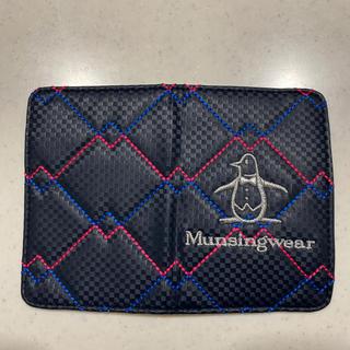 マンシングウェア(Munsingwear)のゴルフスコアカードホルダー(ゴルフ)