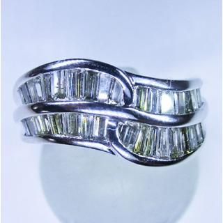値下げ※天然ダイヤモンド1.02ctデザインリング(リング(指輪))