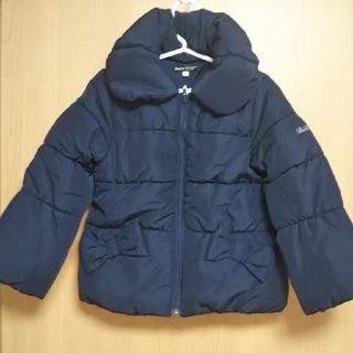 BeBe - 新品 BeBe 女児 コート 110cm 紺色