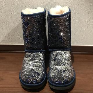 アグ(UGG)のUGGスパンコールブーツ 美品(ブーツ)